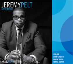 jeremy pelt: trumpeter- producer- educator