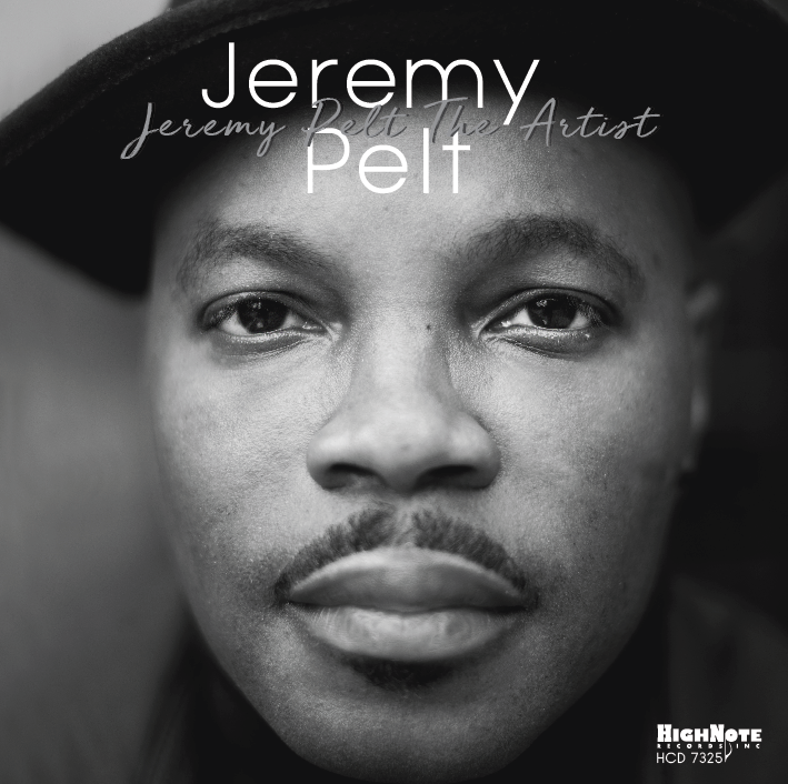 Jeremy Pelt, trumpeter - Jeremy Pelt the Artist, CD Cover